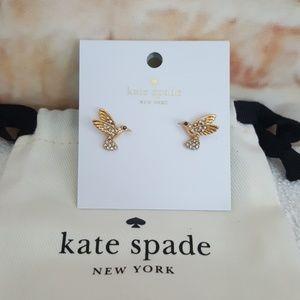New  kate spade Grandma's Closet Stud Earrings